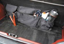 Car Boot Organiser - Interior Storage Autocare 3 Pocket Car Tidy Black Universal