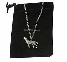 Werewolf Wolf Lycans Silver Pendant Necklace Supernatural Vampire Diaries D2