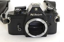 Nikon EM  35mm Film SLR  Body (0077)