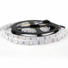 5M 12V 5050 RGB 150 leds Flexible Strips 30leds/M Non-waterproof Lights