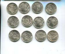 1921 P Morgan Silver Dollar Lot Of 12 Au Bu 5977H