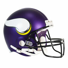 MINNESOTA VIKINGS RIDDELL NFL FULL SIZE AUTHENTIC PROLINE FOOTBALL HELMET