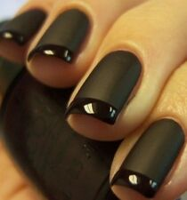 OPI Reverse Matte Tuxedo®~Lincoln Park After Dark, Black Onyx,Matte Nail Polish