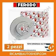 2 DISCHI FRENO ANTERIORI FERODO FIAT DUCATO FURGONATO (250) 140 NATURAL POWER KW