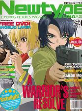 Newtype USA Vol.2 No.9 Mobile Suit Gundam Seed/Sailor Moon/Usagi Yojimbo/Ryvius