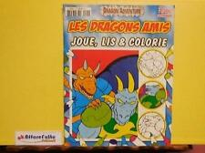 ART 8.467 DRAGON ADVENTURE QUADERNO DA COLORARE LES DRAGONS AMIS N. 4 DEL 2009