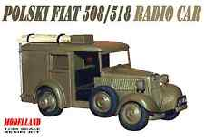 POLSKI FIAT 508/518 RADIO CAR (POLISH ARMY 1939 MARKINGS) 1/35 MODELLAND