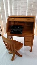 AMERICAN GIRL KIT ROLL TOP DESK AND CHAIR SET TYPEWRITER  Pleasant Company