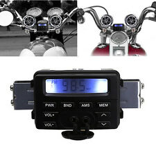 Waterproof Motorcycle Bike Sound Audio FM Radio MP3 Player System in Handlebar