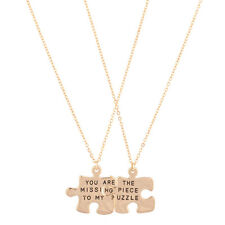 Lux Accessories You Are The Missing Piece To My Puzzle BFF Best Friends Forever