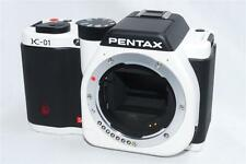 EXCELLENT!! PENTAX  K-01 BODY BOXED  BLACK and WHITE   A+++++