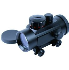 Tactical 1X30 Red / Green Dot Sight 5 MOA Reticle Scope with 20mm Rail Mount