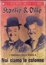 STANLIO & OLLIO NOI SIAMO LE COLONNE FANCIULLI DELLA RISATA DVD SIGILLATO SEALED