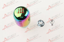 NEO CHROME METAL SHIFT KNOB FOR 5 SPEED SHORT THROW SHIFTER SELECTOR M10X1.5