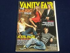 2001 NOVEMBER VANITY FAIR FASHION MAGAZINE - BEYONCE - DAVID BOWIE COVER- F 4134