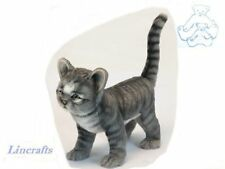 Standing Grey Kitten  Plush Soft Toy Cat by Hansa  6574