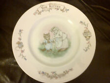 ROYAL ALBERT BEATRIX POTTER TOM KITTEN PLATE 20CM DIAMETER