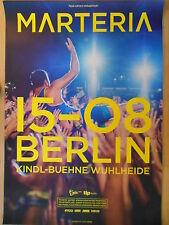 MARTERIA 2015 BERLIN II  -  orig.Concert Poster  --  Konzert Plakat  NEU