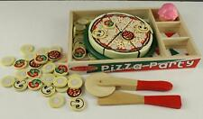 Melissa & Doug Childrens Toy PIZZA PARTY PUZZLE Educational Cooking Wood Toy