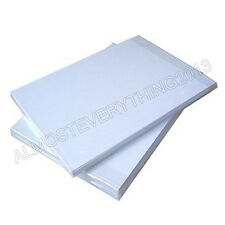 100 SHEETS NEW PREMIUM QUALITY A4 SUBLIMATION PAPER HEAT AND MUG PRESS TRANSFER
