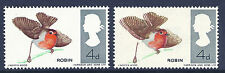 1966 Birds (Ord) - Sg 698 Robin with spectacular colour shift UNMOUNTED MINT/MNH
