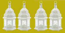 """White Wedding Candle Lanterns 12"""" tall (Set of Four) Party Event Supplies 38465"""