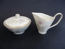 Rosenthal Kronach Germany, Bettina, Milk/Cream Jug & Lidded Sugar Bowl.