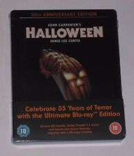 Halloween 35th Anniversary Blu Ray Steelbook - New Sealed UK Exclusive Limited