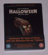 Halloween 35th Aniversario Blu Ray Steelbook-Nuevo Sellado Reino Unido exclusiva limitada