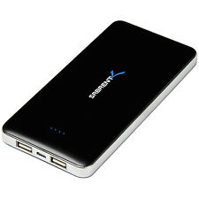 Sabrent 12000mAh Portable Backup Battery Power Bank Charger w/ Dual USB Ports