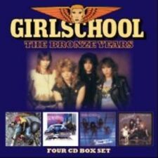 Bronze Years - Girlschool (2016, CD NEUF)4 DISC SET