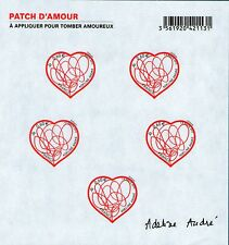 BLOC FEUILLET F4632 NEUF XX - COEURS PATCH D'AMOUR D' ADELINE ANDRE