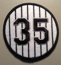 FRANK THOMAS CHICAGO WHITE SOX RETIRED JERSEY NUMBER 35 PATCH