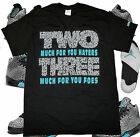 "Men's Black Crew Neck TWO THREE T-shirt to Match Jordan 5 V Retro ""3LAB5"""