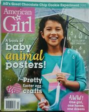 American Girl April 2017 Pretty Easter Egg Crafts Animal Poster FREE SHIPPING sb