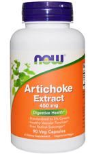 NEW NOW FOODS ARTICHOKE EXTRACT CARE SUPPLEMENT DIETARY HEALTH DAILY SUPPORT