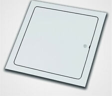 "12"" X 12"" Access Panel,  white, System B4 Sheet Metal Screwdriver operated latch"