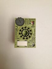 RS Components  342-837 switch  OFF  delay timer relay 0.2s-12m  11 Pin 180-265V