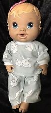 Dolls clothes made to fit 32cm Baby Alive Dolls (size Small).  Pyjamas