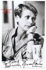 MIRIAM KARLIN   Actress   The Rag Trade   Everbody OUT    HAND SIGNED B/W Photo