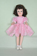 "Vintage Hard Plastic 1950s 14""in. Mary Hoyer Doll Fully Marked FREE S&H"