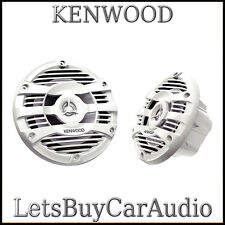 "KENWOOD KFC1653MRW WATERPROOF 160 mm (6.5"") 150 WATT MARINE 2 WAY SPEAKERS"