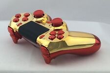 Official PS4 Wireless Controller Custom Modded Red Gold Marvel IRONMAN 35