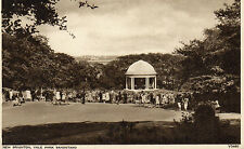Vintage Postcard NEW BRIGHTON, VALE PARK BANDSTAND, WALLASEY Unposted (250) F