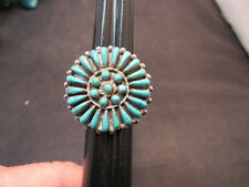 OLD Vintage Zuni  Turquoise  Sterling Ring