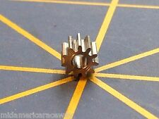 Sonic 64 Pitch 11 Tooth Drag Pinion Gear from Mid America Raceway 1/24 slot car