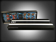 DC AUDIO 7.5k A3 1 Channel Mono Amplifier 9200 Watts RMS Output w/ Bass Knob 18v