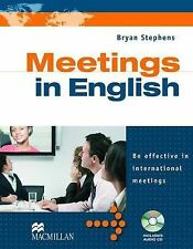 Meetings in English Pack by B. Stephens (Mixed media product, 2011)