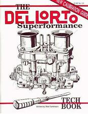 DELLORTO DRLA TWIN CARBS/CARBURETTORS – TUNING BOOK/MANUAL/GUIDE