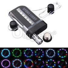 LED Raggi Per Bici Tire Ruota Con 30 Diverse Combinazioni Colorate 14 LED Luce